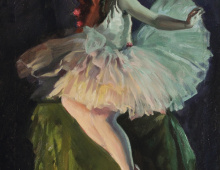 """Portrait, Ballerina"""