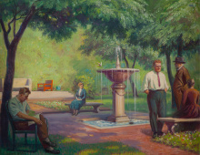 """Tree Studio Courtyard I"""