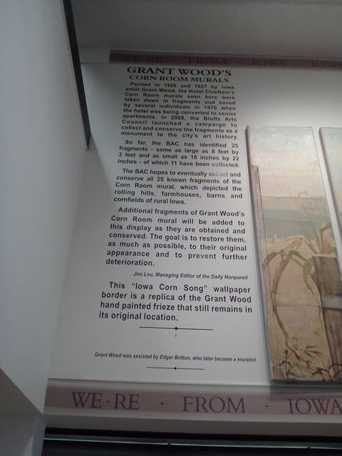 Grant Wood Mural Text