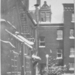 Courtyard Winter 1920's