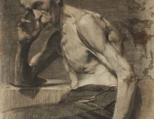 Skinny Old Man c 1917