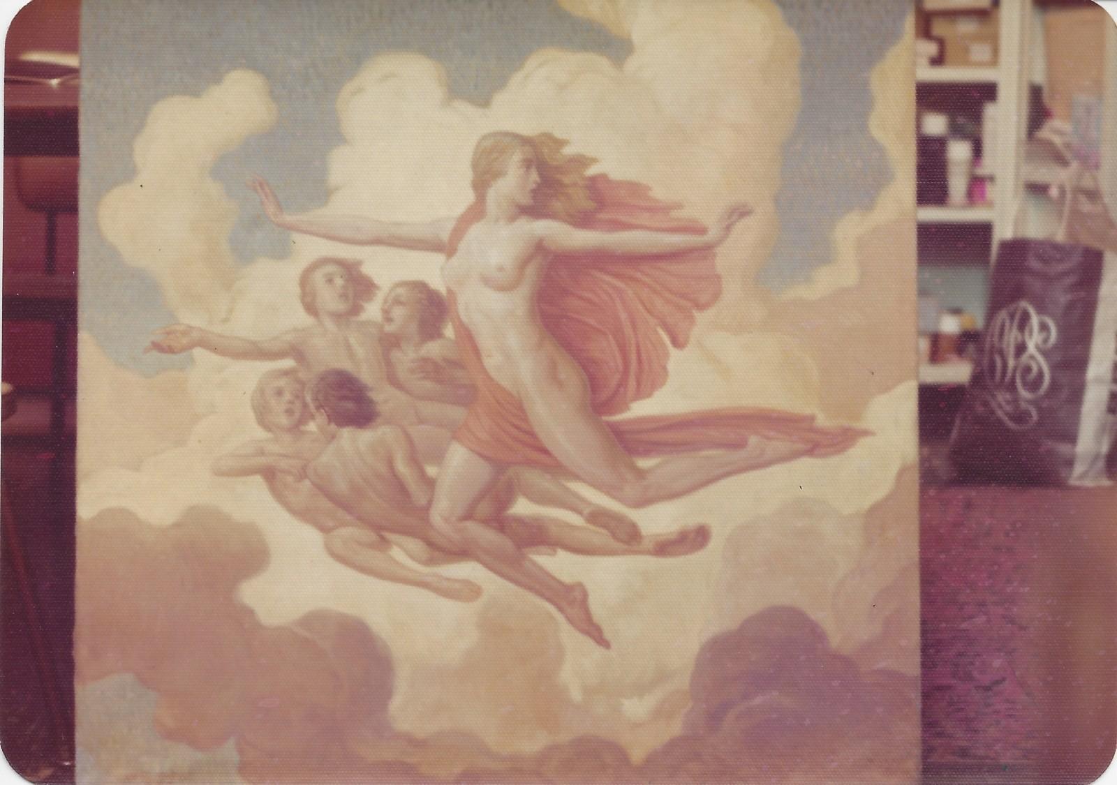 Woman Flying