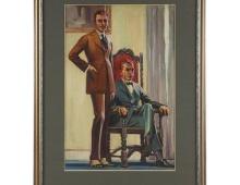 Two Men portrait