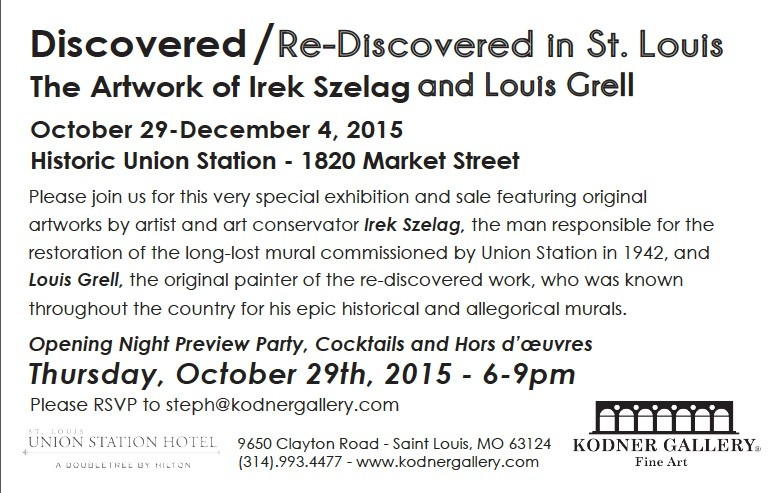St. Louis Union Station Grell:Szelag Art Exhibit
