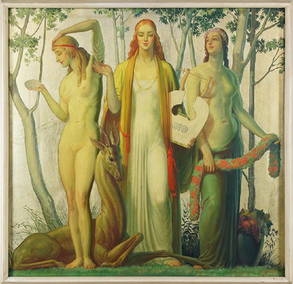 Three Muses for sale May 23 at Susanin's