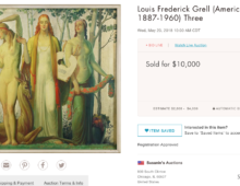 NEW AUCTION RECORD – The Three Muses, 1934