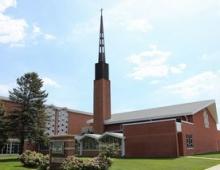 St. John's Lutheran Church, Council Bluffs, Iowa (Louie's home town)