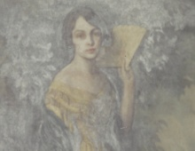 Fredricka in Gown