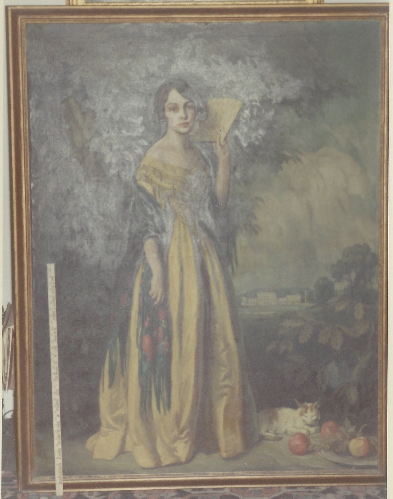 Fredericka in Gown